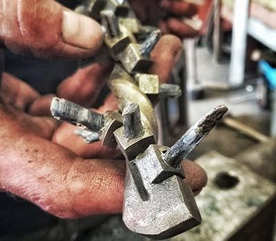 Kleine Kunst aus Stahl
