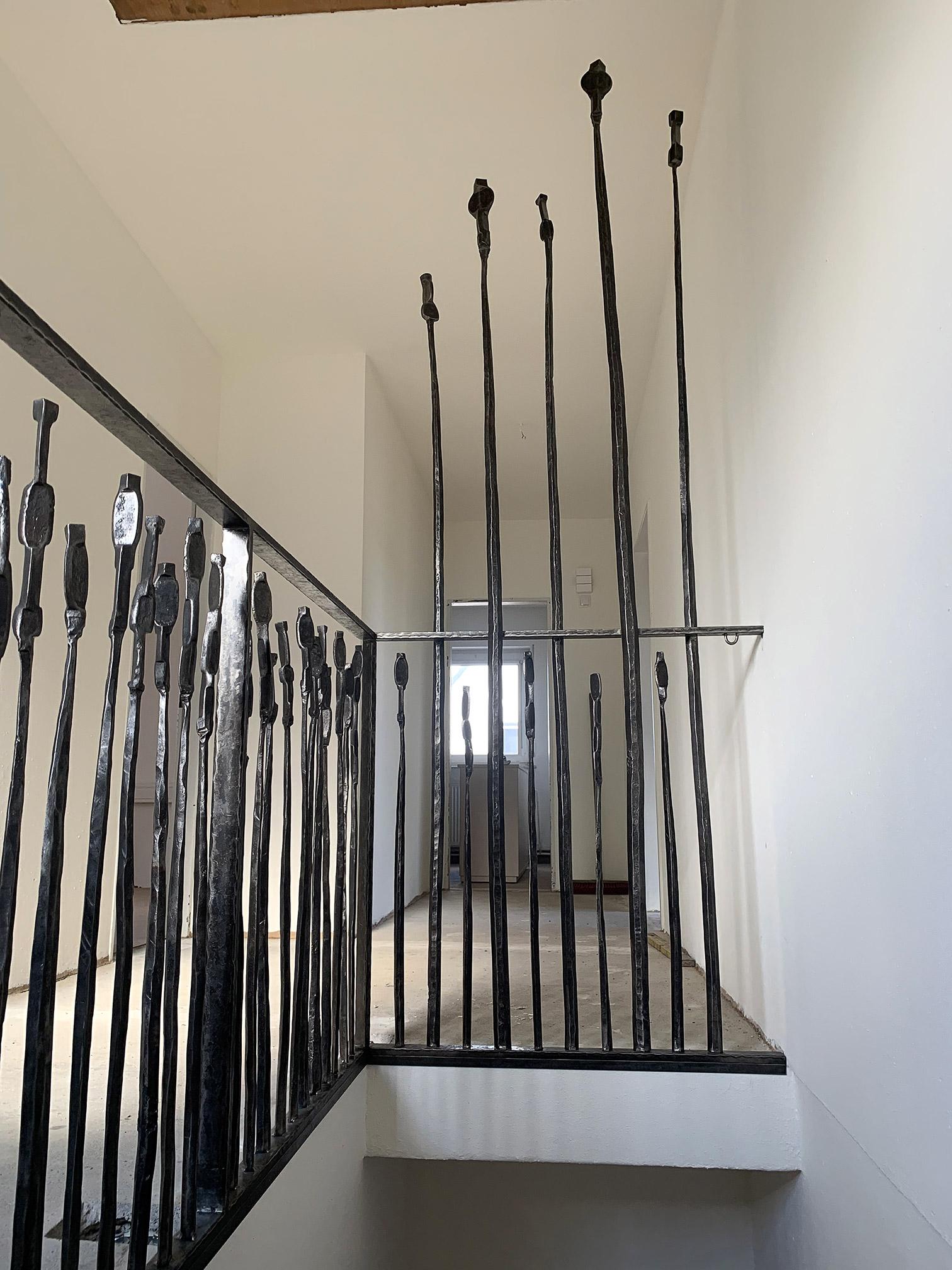 Geländer-Innenbereich schwebende Anmutung