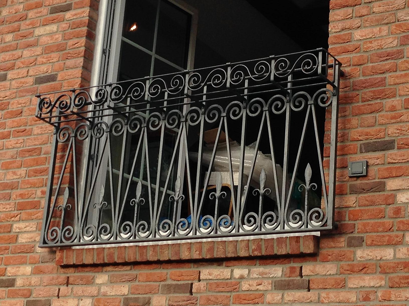 Französischer Balkon aus Kiel